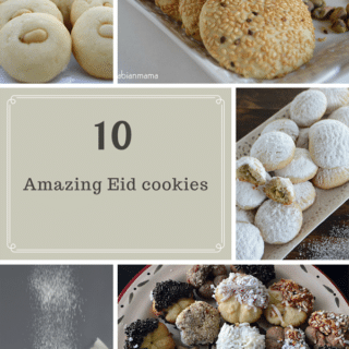 An infograph of Several Cookies recipes