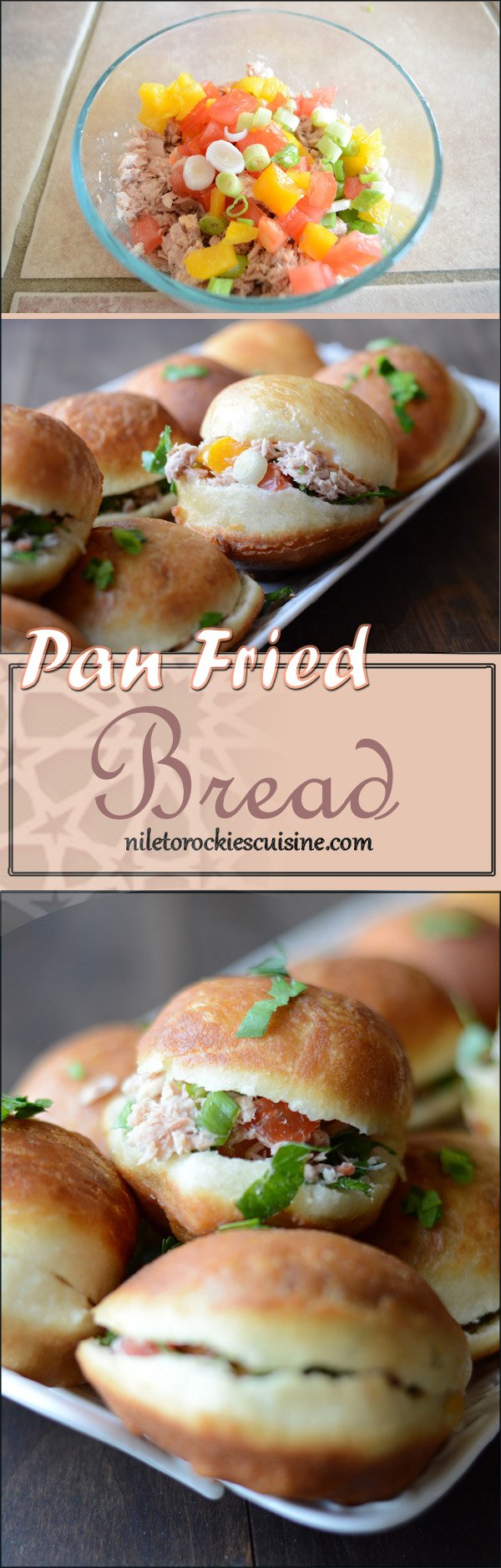 Delicious buns with the texture of a doughnut on the outside, while the inside is very fluffy and thin. This is one of my party favor recipes, as it can be filled with anything, cheese, tuna, meat, olives, pickles … you name it.
