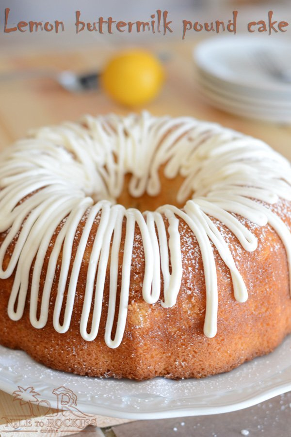 A pretty classic lemon pound cake that has a delicate and pleasant fresh lemon flavor with a dense, moist crumb. This sour cream lemon bundt cake is a beautiful golden colored one that is even tastes better the second day.