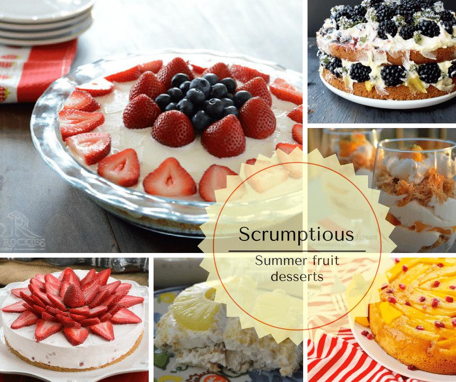 Summer Fruit Desserts Recipes