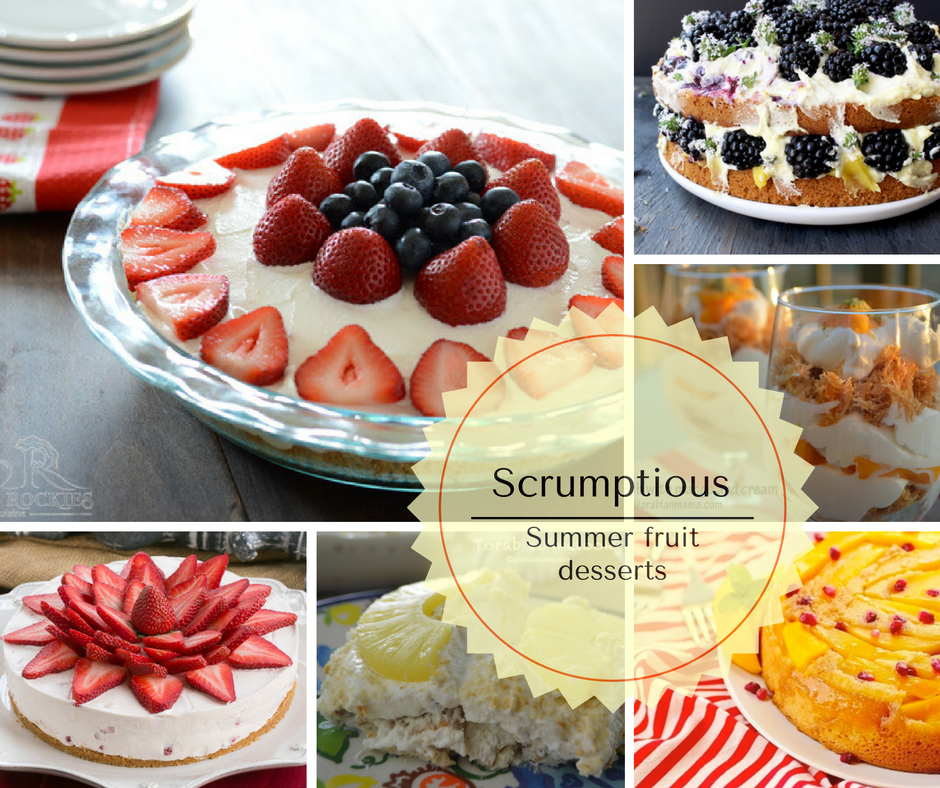Berries, peaches, mangos, and melons the quintessence of summer fruits, and with Fall almost a month away, we need to enjoy more of those luscious fruits. There is no better way to enjoy them than using them to make a delicious summer fruit desserts.