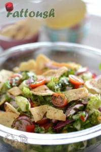 Best Lunch Box Ever; How to make the perfect fattoush salad