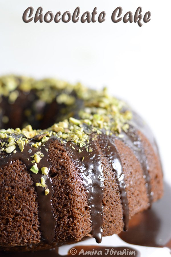 Moist chocolate cake soaked in condensed milk cocoa syrup and topped with roasted pistachios, for serious chocolate lovers only!!.