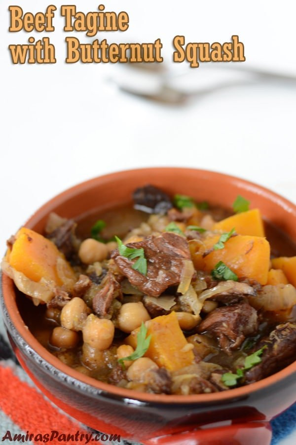 Fill the house with amazingly sweet middle eastern aromas with this Moroccan beef tagine recipe . Seriously tasty and easy to make, made it with beef, but you can use lamb, chicken or even make it meatless, the flavors are fantastic.