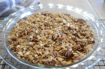 Use up winter squash in this festive butternut squash casserole with pecan oat streusel, a terrific dessert that is a crowd pleaser and kid friendly with its candy like topping.