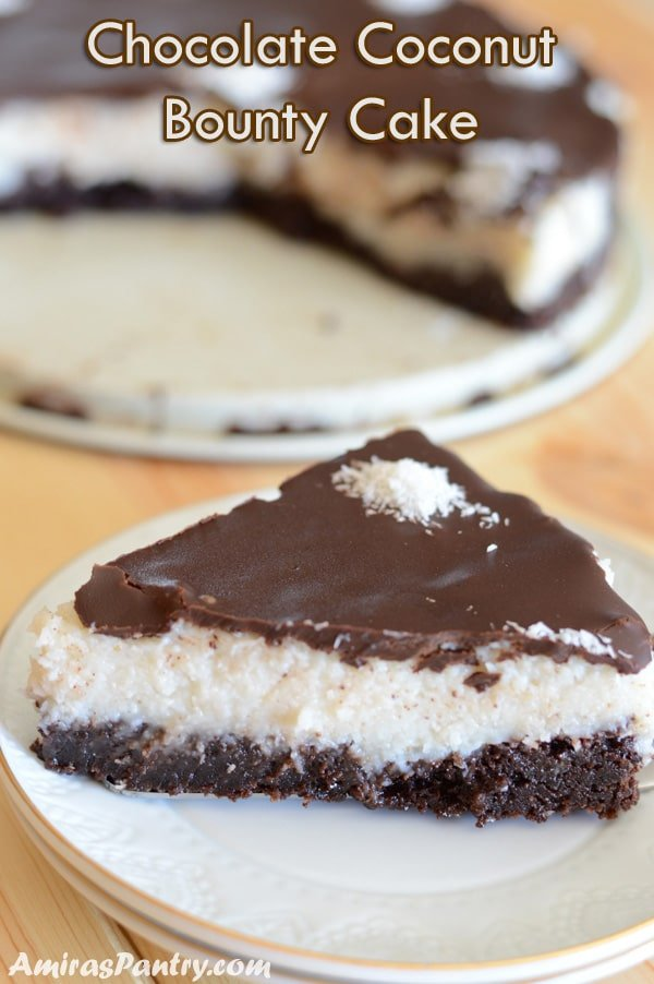 A delicious bounty cake recipe that tastes like the candy bar, dare I say even better