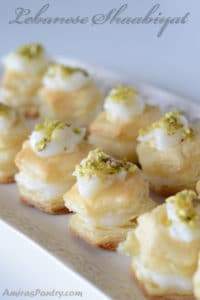 Lebanese Shaabiyat dessert