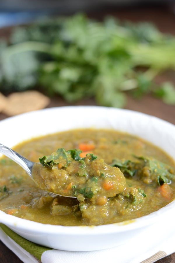 A Mediterranean kale detox soup, the ever popular got even better with this twist.