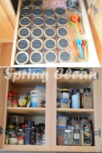 How to easily spring clean your spice cabinet