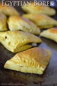 Egyptian Borek; Deli meat stuffed