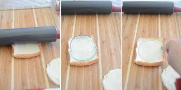 Step by step photos for making bread