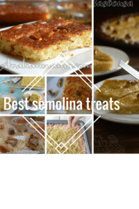 Best Semolina treats