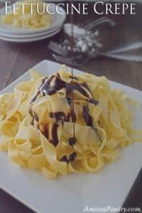 Fettuccine Crepe
