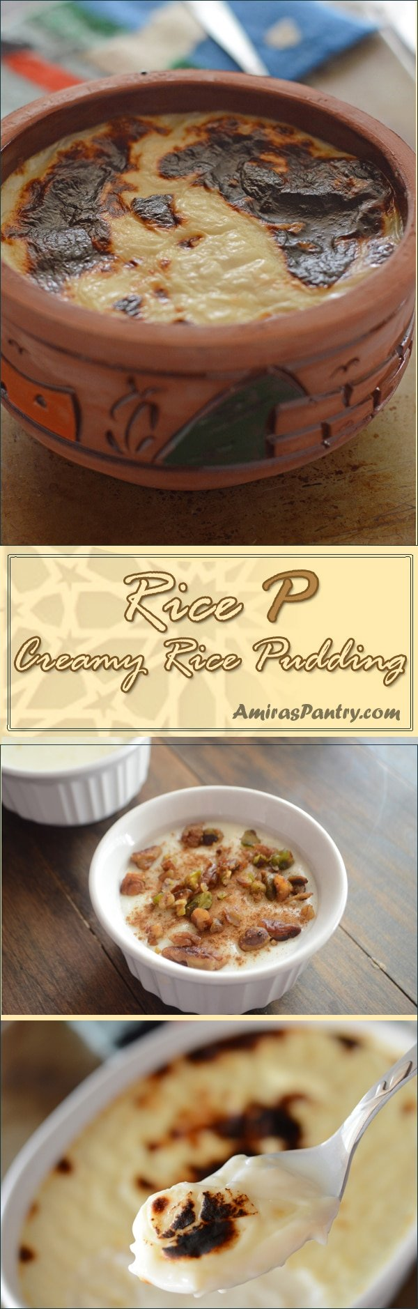 Incredibly creamy rice pudding, very tender and rich. This is a very simple rice pudding recipe that is great for entertaining a large crowd.