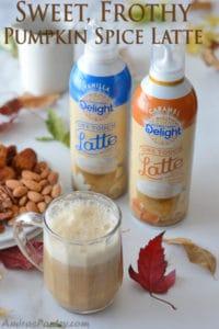 Sweet, Frothy Pumpkin Spice Latte