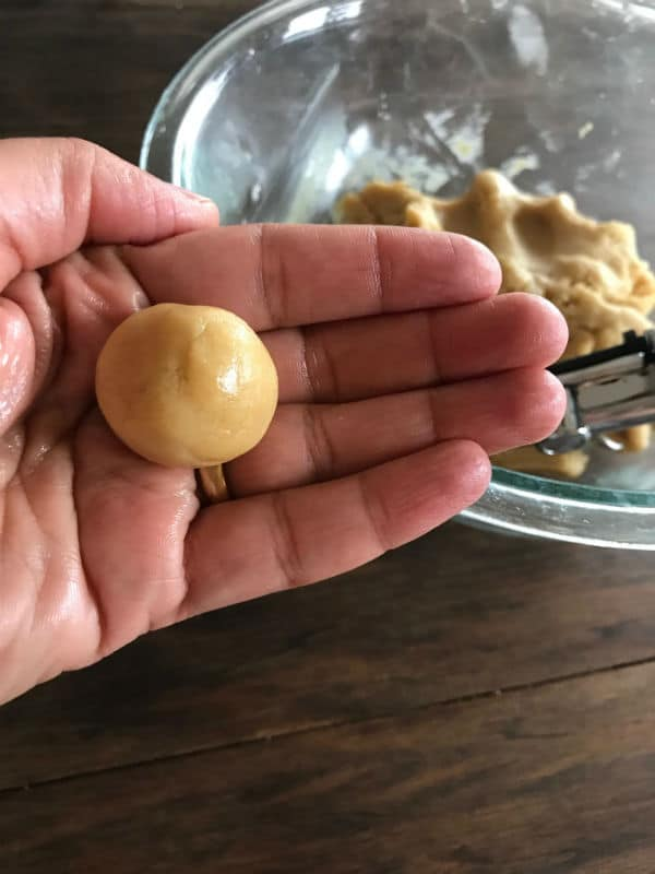 Step by step photos for making cookies