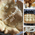 Failed Recipes 2017