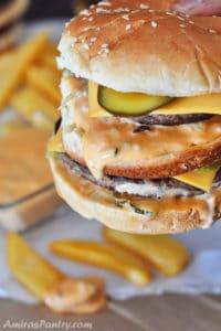 Homemade Big Mac Sauce Recipe