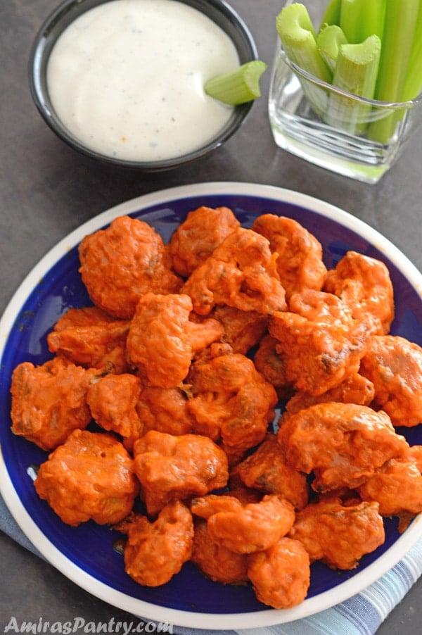 how to make buffalo cauliflower