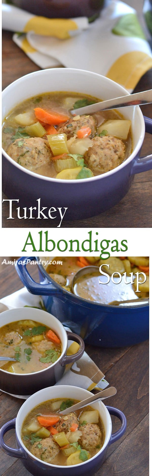 Albondigas Mexican soup is a meatball soup that in incredibly tasty, full of flavors and loaded with vegetables.
