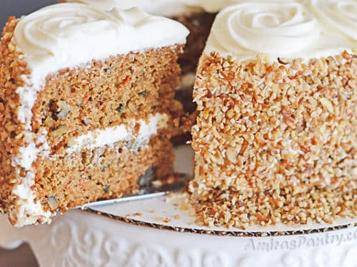 Healthier Carrot Cake Super Moist With Honey Sweetened Frosting