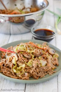 Fried Buckwheat, An Easy Yakisoba Recipe