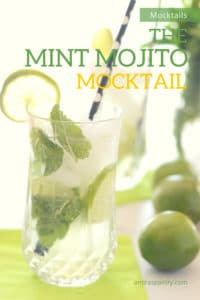 Chill with this Cool Mint Mojito Mocktail