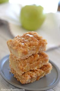 Apple Crisp Bars; With Crumb Topping