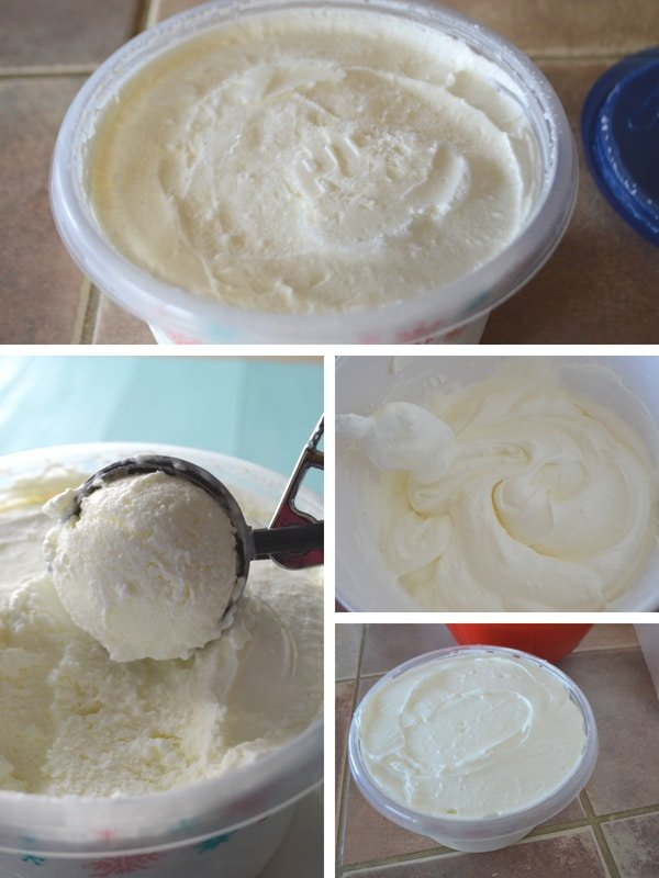 Steps to make Lebanese stretchy booza ice cream.