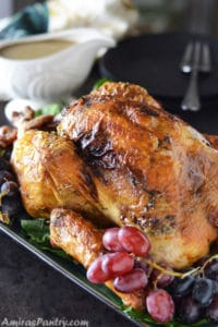 Perfect Roast And Moist Turkey; Dry Brined