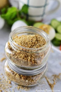 Dukkah Spice; Egyptian Nut and Spice Blend