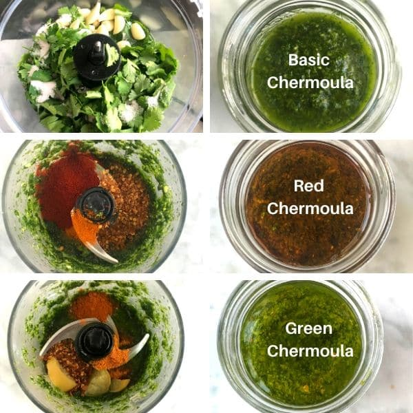 chermoula sauce step by step image