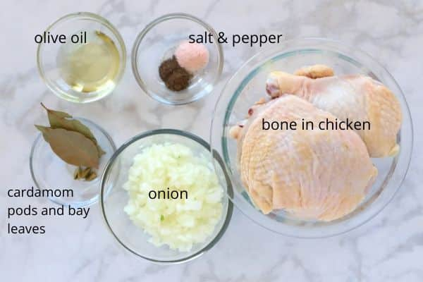 cooking chicken ingredients
