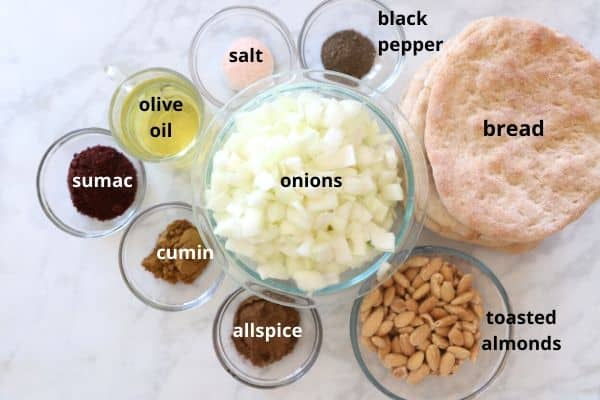 onion sauce ingredients