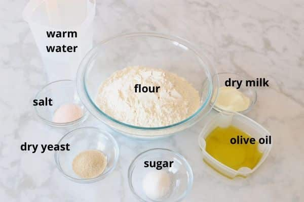 Sfiha and Manakeesh dough ingredients