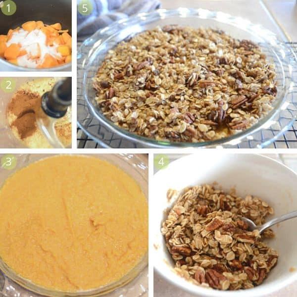 butternut squash casserole step by step