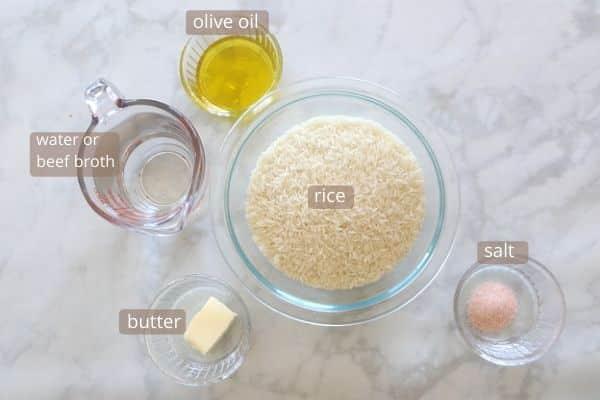 Egyptian fattah rice ingredients