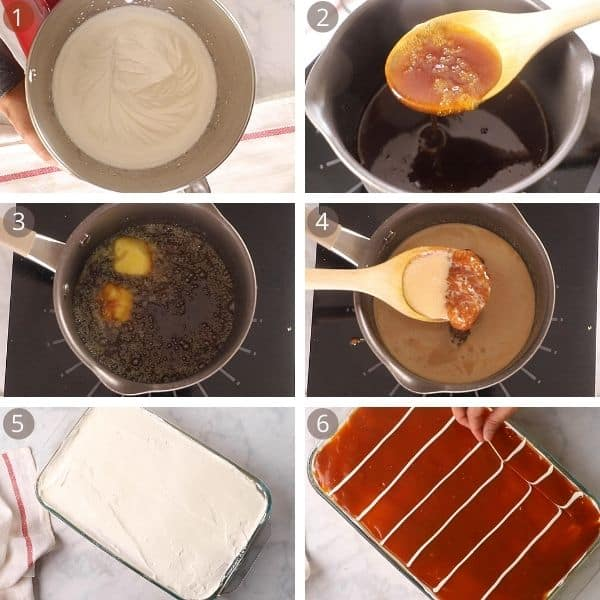 steps for making caramel for tres leches